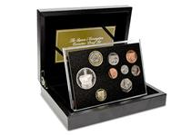 Official Royal Mint product. The 2013 United Kingdom definitive coins from the £2 to the 1p struck to a fine Proof Finish in cupro nickel. Accompanied by the Silver 'Coronation Jubilee' UK £5 Coin.