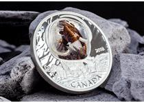 This unique coin gives a window back to the Ice Age, featuring a Woolly Mammoths frozen under an 'ice' dome! Struck from 31.39g of purest silver and finished to proof standard. Edition limit: 5000