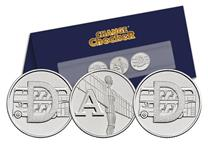 A specially designed Change Checker Stand that spells out 'DAD'   using the beautifully illustrated A-Z 10p Coins. This is an ideal gift for a special dad or to celebrate an occasion.
