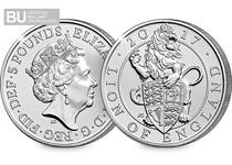 The Lion on England is a traditional symbol of bravery, strength and valour. This £5 coin has been protectively encapsulated and certified as superior Brilliant Uncirculated quality.