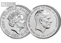 This coin has been issued by The Royal Mint to pay tribute to Prince Philip the Duke of Edinburgh and his 70 years of service to the Queen, the United Kingdom, British Isles and the Commonwealth.