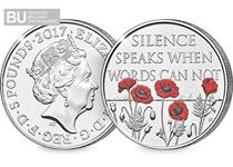 To honour the sacrifices of all those who have risked and continue to risk their lives to protect our freedom, a UK £5 coin has been issued.