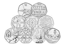 The Change Checker Commemorative 50p Lucky Dip is the perfect way to boost your 50p collection. 9 commemorative 50p coins are included, ranging from Olympic 50ps to special anniversary 50p coins.