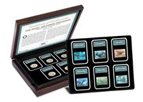 Issued to commemorate 100 years of the RAF this boxed edition features all 6 Royal Mail 2018 RAF Centenary stamps and all 5 Royal Mint RAF Centenary £2 coins. Each is presented in a capsule.