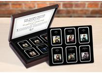 Royal Mail's 2018 Harry Potter 1st Class character stamps and 2011 'Magical Realms' 1st Class stamp release. Comes in tamper-proof capsules with specification cards, in a deleuxe presentation box.