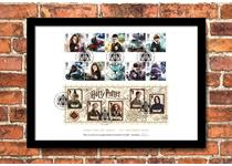 Limited Edition Presentation Frame featuring Royal Mail's brand new 2018 Harry Potter 10v stamps and Professors Miniature Sheet. Officially postmarked on first day of issue: 16.10.2018. EL: 4,995