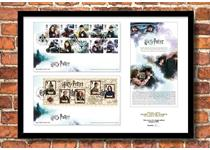 Limited Edition Presentation Frame featuring Royal Mail's new 2018 Harry Potter 10v stamps and Miniature Sheet, and Royal Mail's official release notes. Officially postmarked on 16.10.2018. EL: 995.