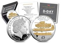 The D-Day 75th Anniversary Five Pound Coin