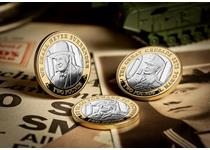 2019 marks the 75th anniversary year of the Normandy Landings which took place on 6th June 1944, D-Day. This £2 coin features a portrait of an important figure during D-Day - Winston Churchill.