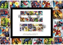 Limited Edition Presentation Frame featuring Royal Mail's new 2019 MARVEL stamps and comic strip mini sheet. Featuring characters and officially postmarked with First Day of Issue: 14.3.19. EL: 2,495.