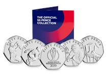 The Official ICC Cricket World Cup 2019 50p Set is the perfect way to celebrate England's historic victory in becoming Cricket World Champions.