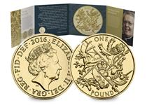 To bid farewell to the Round £1 Coin, The Royal Mint issued one final design. Only issued in 2016, it never entered normal circulation, so you'll never have found one in your change.