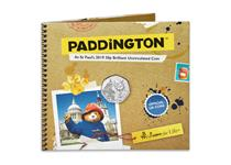 This BU Pack from The Royal Mint contains the UK Paddington at St Paul's Cathedral 50p struck to a Brilliant Uncirculated quality. Comes beautifully presented in its official Royal Mint packaging.