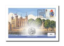 This small UK cover features Royal Mail's 2006 Paddington Bear stamp, and The Royal Mint's 2019 Paddington at The Tower of London BU 50p coin. Postmarked - 13.08.19. Edition Limit: 1,000.