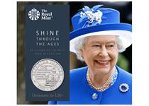 To celebrate the Queen's Sapphire Jubilee, The Royal Mint has issued this new £5 coin for 2017. It is certified as superior Brilliant Uncirculated quality.