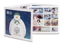 This 50p has been issued by The Royal Mint and features a design of the iconic character, The Snowman. Struck to superior Brilliant Uncirculated quality and presented in bespoke Royal Mint packaging.