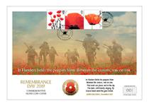 New cover issued to mark Remembrance Day. Features the first ever Remembrance Poppy £2 Silver Proof Coin and Official Royal Mail Poppy Stamps. Only 250 worldwide. Approved by The Royal British Legion.