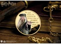 This Official Harry Potter Commemorative features a full colour image of Dumbledore alongside one of his famous wise quotes, 'We must all face the choice between what is right and what is easy'.