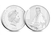 The officially licensed Star Wars Classic Darth Maul Coin. Struck from 1oz of pure .999 Silver, and comes in bespoke presentation case with a Certificate of Authenticity. EL: 10,000.