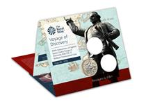 This BU Pack features the 2020 £2 issued to mark the 250th anniversary of Captain Cook's voyages of discovery. This coin is the 3rd in a 3-coin series. Comes in  official Royal Mint packaging.