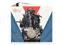 This BU Pack features the 2020 UK £2 issued to mark the 75th anniversary of VE Day. The £2 coin has been struck to a brilliant uncirculated finish & comes in official Royal Mint packaging.