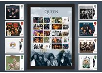 Your Frame features Royal Mail's 2020 Music Legends Queen Collector Sheet, alongside Officially Licensed Philatelic Labels. The stamps are postmarked with their First Day of Issue, 09.07.20. EL: 2,995