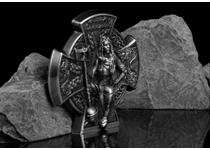 Following on from the SELL-OUT King of Manannan issue, CIT introduces the 3oz silver coin featuring Boudicca, the Warrior Queen. This stunning highly detailed coin is limited to just 999 pcs.