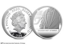 This coin has been struck by The Royal Mint from 1oz .999 Silver to a proof finish. This is the 3rd coin in the series. Your coin comes in Royal Mint presentation box with numbered COA. EL 7,007.