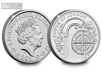 This is the third coin issued in The Royal Mint's 2020 The Tower of London Collection.