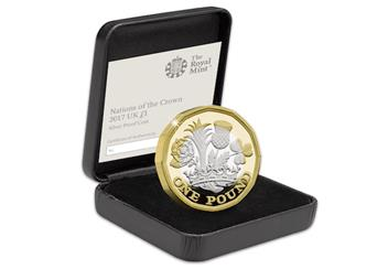 Nations of the Crown 1 Pound Silver Proof Box