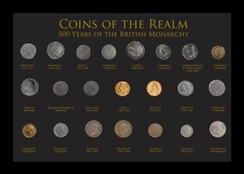 Coins of the Realm Framed Collection (1)