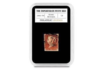 184E Penny Red and Penny Black