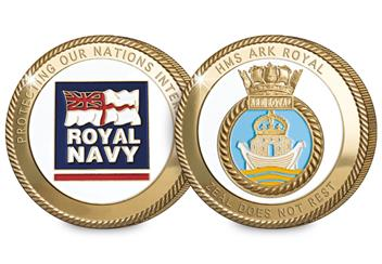 Navy Commemoratives Ark Royal Obverse Reverse
