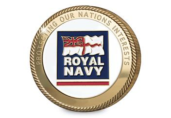 Navy Commemoratives Royal Navy Obverse