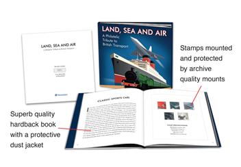Land sea and air book details