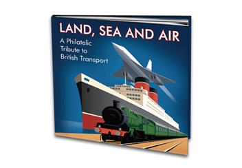 Land sea and air book cover