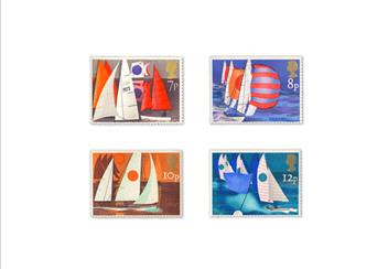 Land Sea and Air Philatelic Book stamps Boats