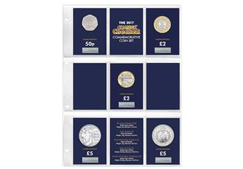 Change Checker 2017 Commemorative Coins Page