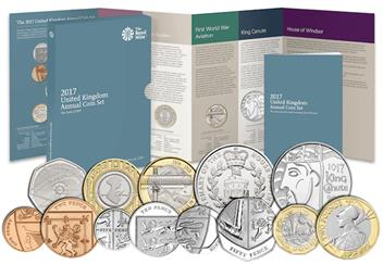 2017 United Kingdom Annual Coin Set Main