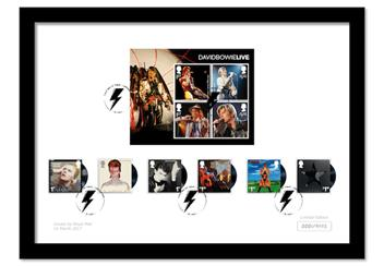David Bowie Framed Collector Card