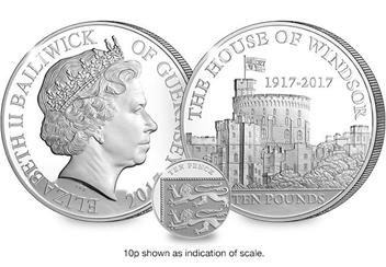 House of Windsor 100th Anniversary 5oz Coin