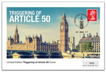 Article 50 Triggering Commemorative Cover
