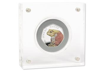 Beatrix Potter 2017 50p Silver Proof Coins Pack Jeremy Fisher