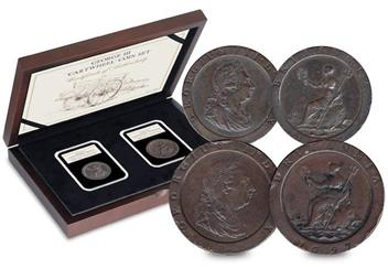 1797 George III 'Cartwheel' Coin Set