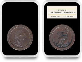 1797 George III 'Cartwheel' Coin Set 3 (1)