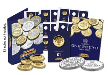 The Great One Pound Coin Race Kit