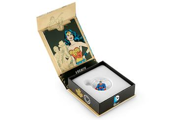 Full Colour Superman Coin in Box 2