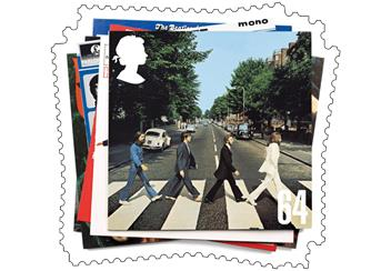 Abbey Road Stamp