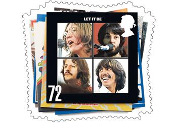Beatles Let it be Stamp