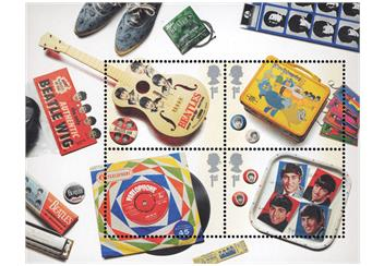 Beatles Memorabilia Miniature Sheet